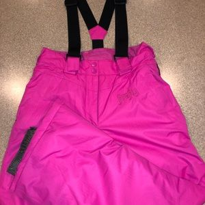 Girls Large Firefly Aquamax elite snow pants
